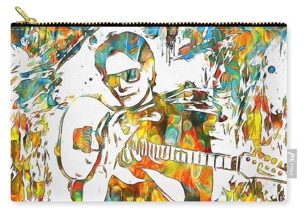 Steve Vai Paint Splatter Carry-all Pouch