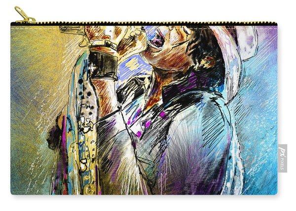 Steven Tyler 01  Aerosmith Carry-all Pouch