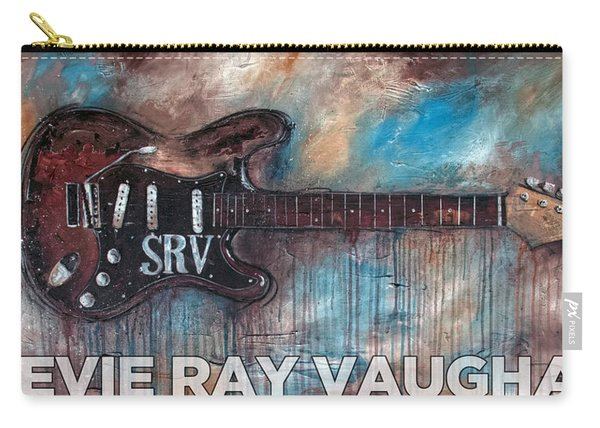 Stevie Ray Vaughan Double Trouble Carry-all Pouch