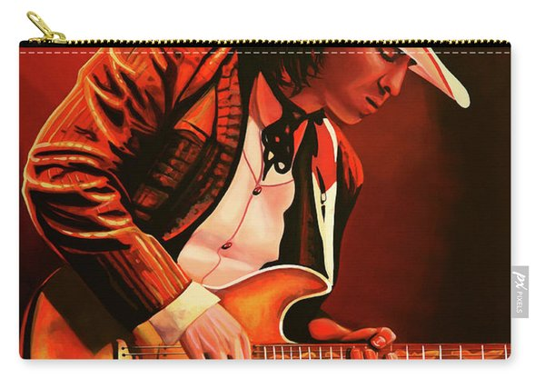 Stevie Ray Vaughan Painting Carry-all Pouch