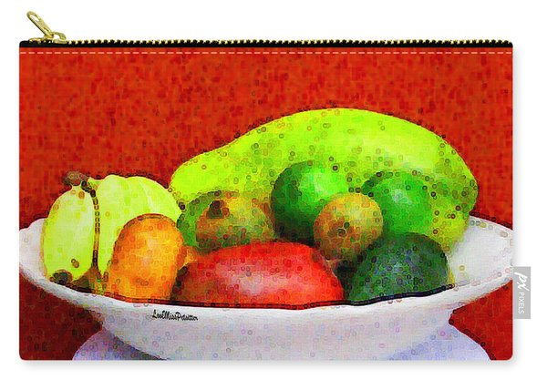 Still Life Art With Fruits Carry-all Pouch