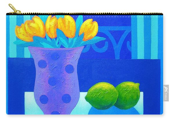 Still Life At Window IIi Carry-all Pouch