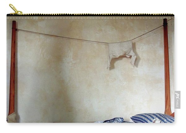 Still Life In A Colonial Bedroom Carry-all Pouch