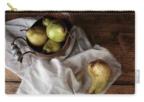 Still-life With Arrangement Of Pears  Carry-all Pouch