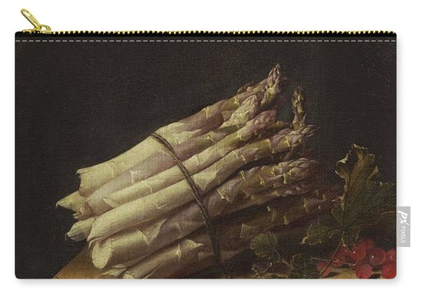 Still Life With Asparagus And Red Currants Carry-all Pouch