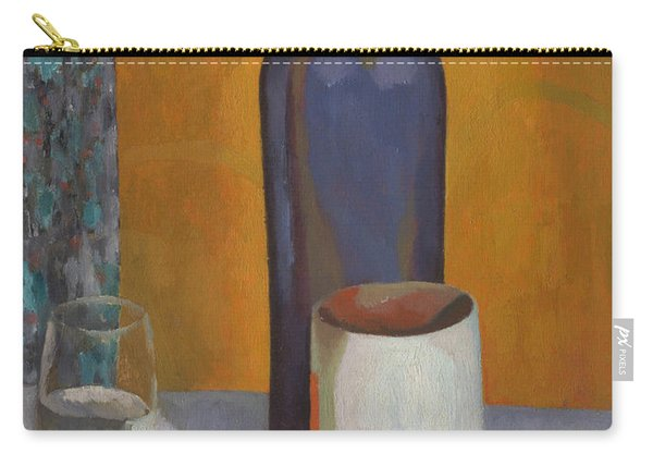 Still-life With Blue Bottle Carry-all Pouch