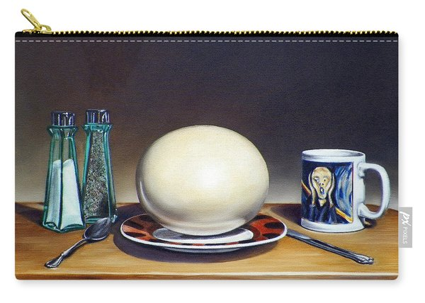 Still Life With Boiled Ostrich Egg Carry-all Pouch