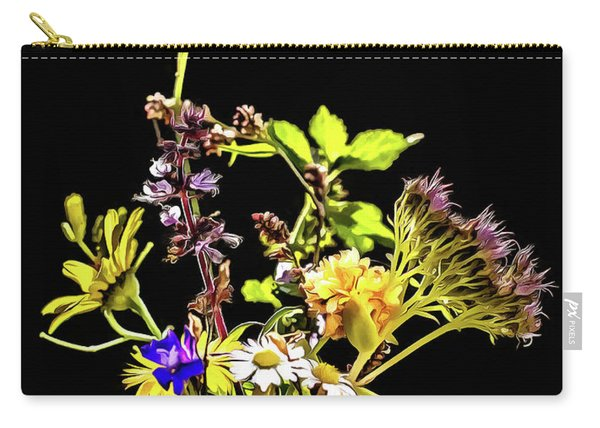 Still Life With Flowers Paint Carry-all Pouch