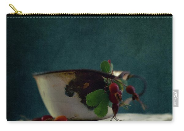 Still Life With Rosehips Carry-all Pouch
