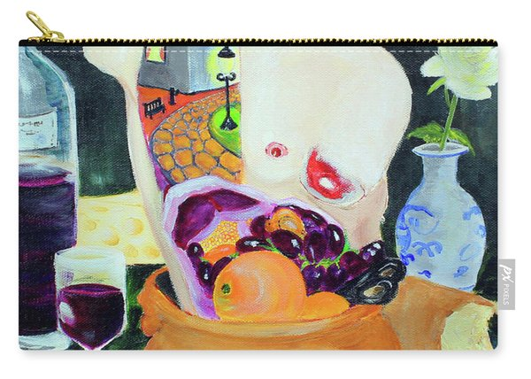 Still Life With Scissors Carry-all Pouch