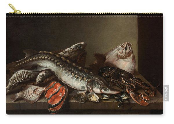 Still Life With Seafood Carry-all Pouch