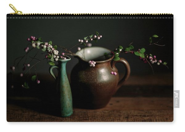 Still Life With Stoneware  Carry-all Pouch