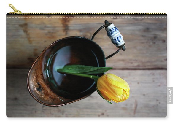 Still Life With Tulip Carry-all Pouch