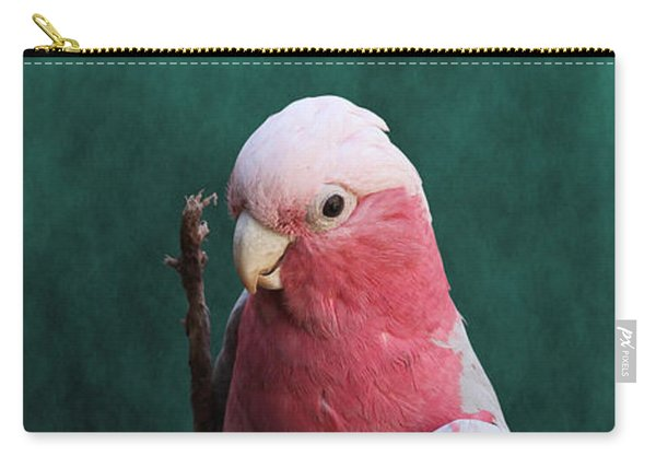 Stiltwalker - Roseate Cockatoo Carry-all Pouch