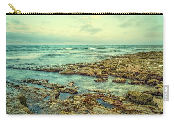 Stone And Sea Carry-all Pouch
