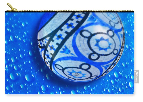 Stone And Water Orb Abstract Carry-all Pouch