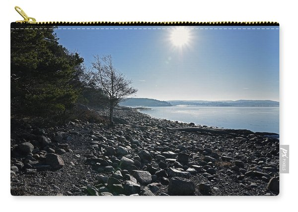 Stone Beach Carry-all Pouch