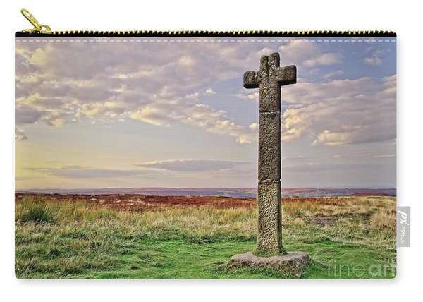 Stone Cross On North York Moors Carry-all Pouch