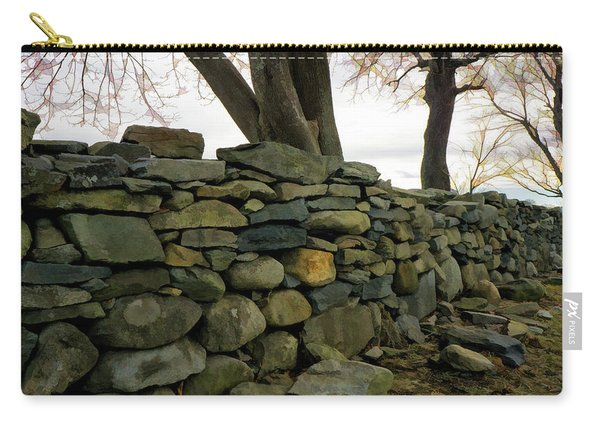 Stone Wall, Colt State Park Carry-all Pouch