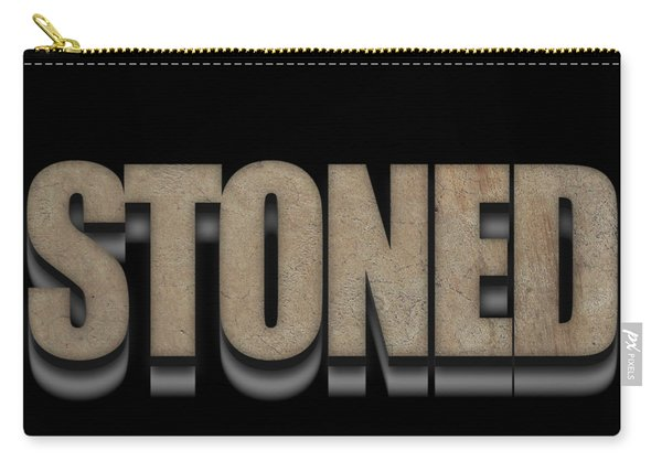 Stoned Tee Carry-all Pouch