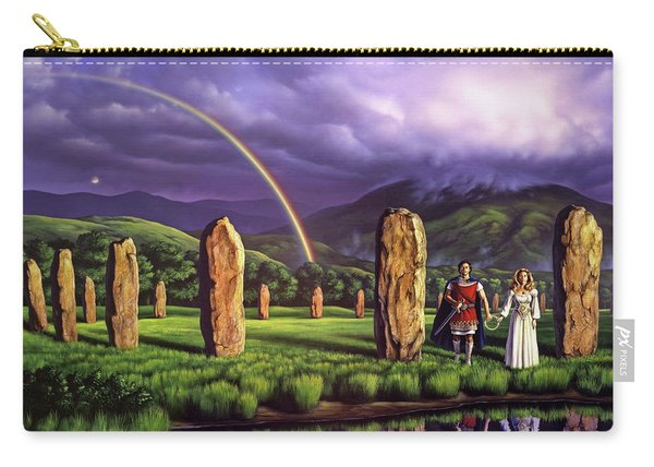 Stones Of Years Carry-all Pouch