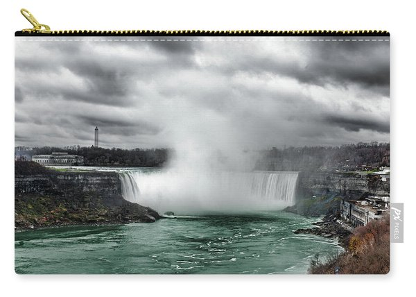 Storm At Niagara Carry-all Pouch
