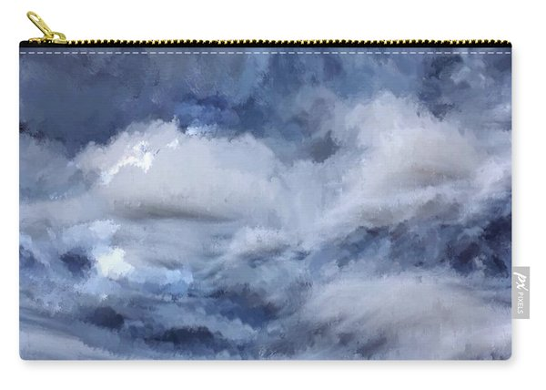 Storm At Sea Carry-all Pouch