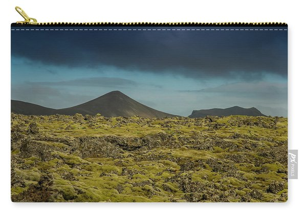 Storm Clouds Over Iceland Carry-all Pouch