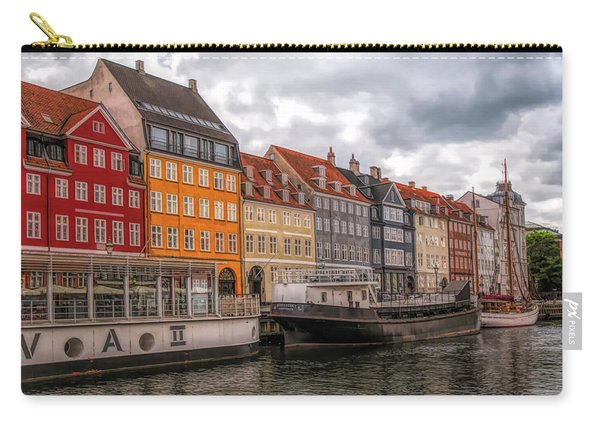 Storm Clouds Over Nyhavn Carry-all Pouch