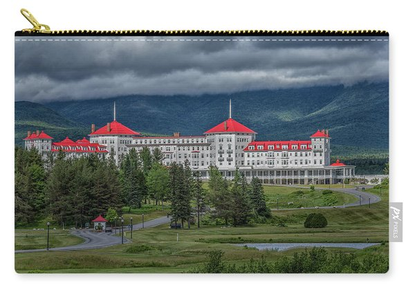 Storm Clouds Over The Mount Washington Hotel Carry-all Pouch