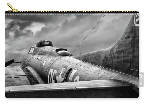 Storm Couds Over Memphis Belle - 2017 Christopher Buff, Www.avia Carry-all Pouch
