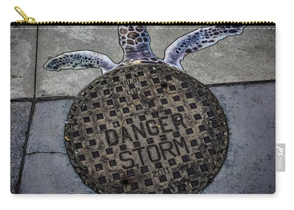 Storm Drain Carry-all Pouch