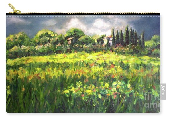 Storm In Tuscany Carry-all Pouch