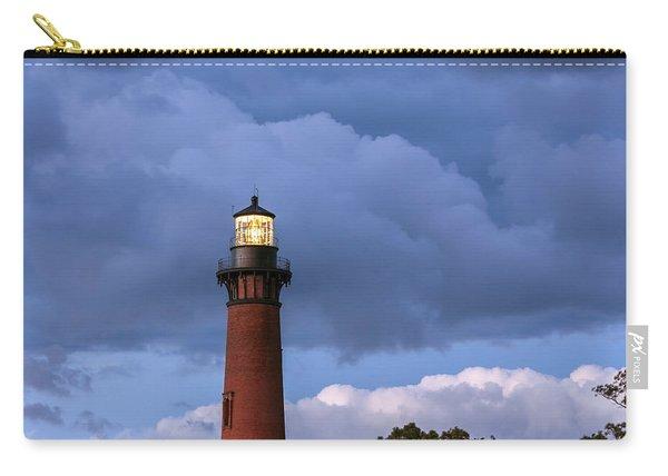 Storm Looms Near Currituck Beach Lighthouse Carry-all Pouch