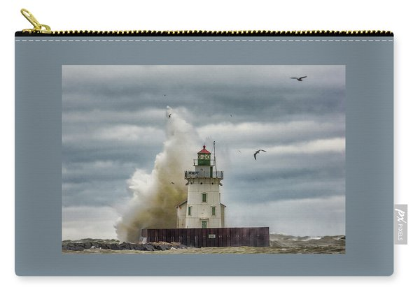 Storm On Lake Erie Carry-all Pouch