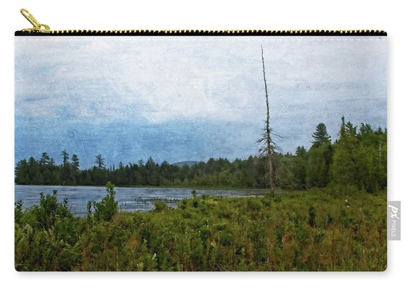 Storm On Raquette Lake Carry-all Pouch