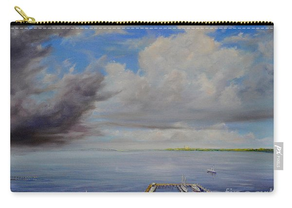 Storm On The Indian River Carry-all Pouch