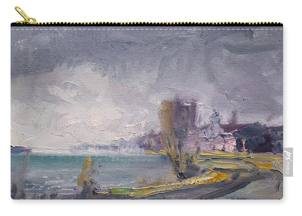 Storm Over Buffalo River  Carry-all Pouch