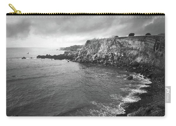 Storm Over The Eastern Shoreline Of Angra Do Heroismo Terceira Carry-all Pouch