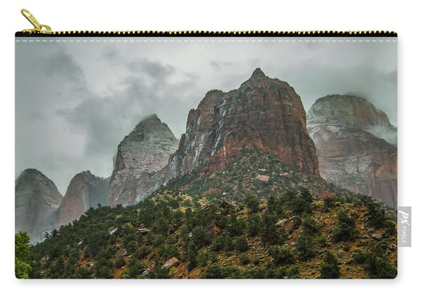 Storm Over Zion Carry-all Pouch