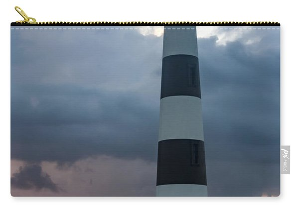 Storm Passes Bodie Island Lighthouse Carry-all Pouch