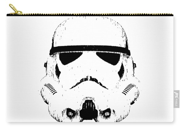 Stormtrooper Helmet Star Wars Tee Black Ink Carry-all Pouch