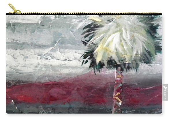 Stormy Horizons Palm Tree Carry-all Pouch