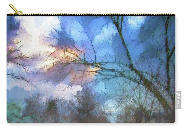 Stormy In Stockton Carry-all Pouch