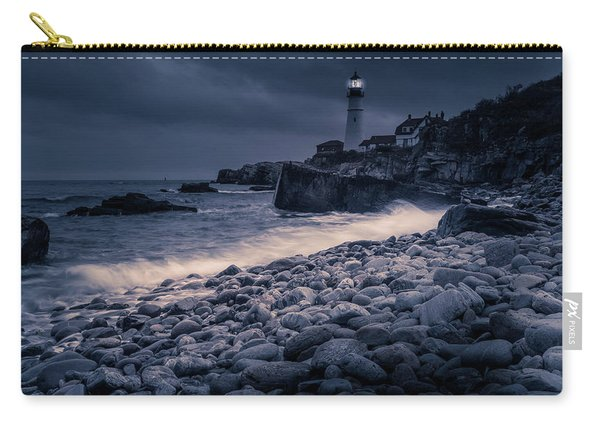 Stormy Lighthouse 2 Carry-all Pouch