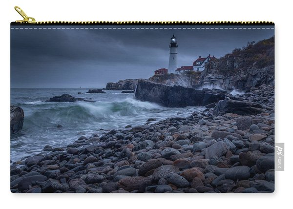 Stormy Lighthouse Carry-all Pouch