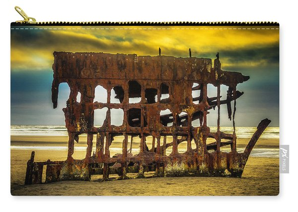 Stormy Shipwreck Carry-all Pouch