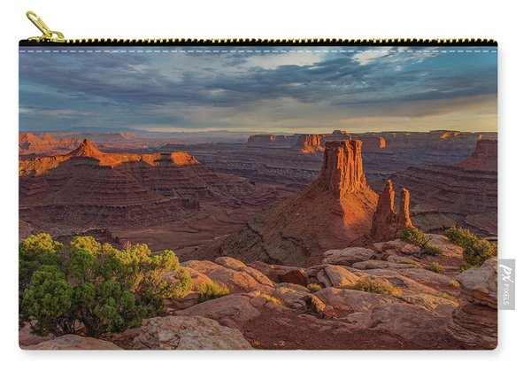 Stormy Sunset - Marlboro Point Carry-all Pouch