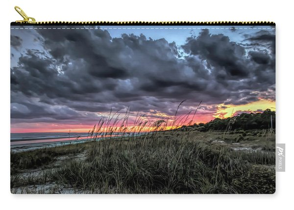 Stormy Sunset On Hilton Head Carry-all Pouch