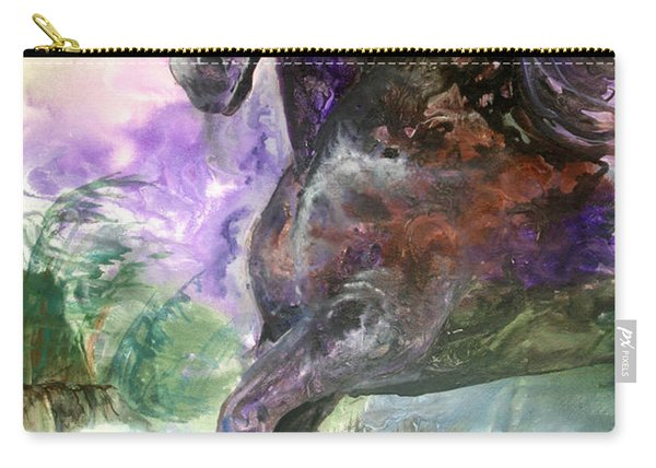 Stormy Wind Horse Carry-all Pouch